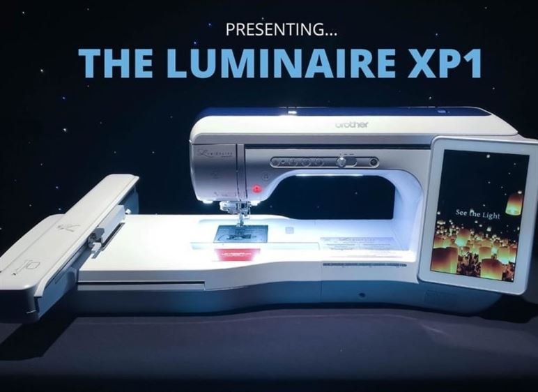 The Brother Luminaire Xp1: Part 2 My Design Center & Embroidery