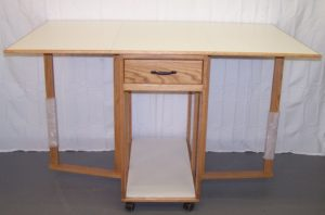 Unique Sewing Furniture cutting table give-away