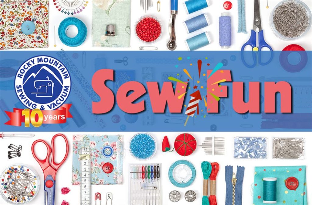 Graphic for Sew Fun July