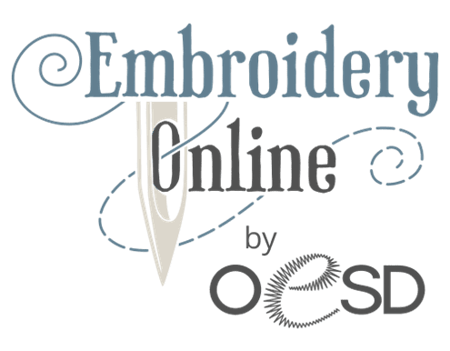 Logo for Embroidery Online website by OESD
