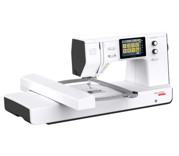 photo of the Bernette b70 embroidery only machine