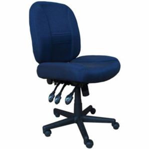 Horn Deluxe Adjustable Sewing Chair Blue