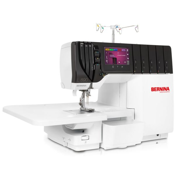 Bernina L890 overlocker coverstitcher with side table