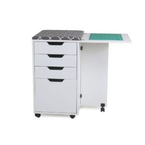 Kangaroo Kiwi sewing cabinet open top