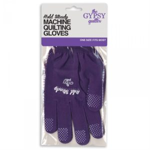 Hold Steady Machine Quilting Gloves