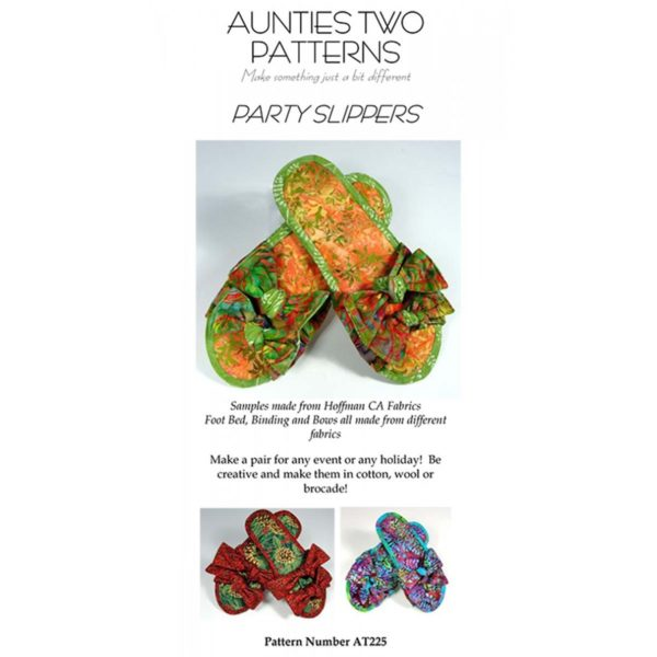 Party Slippers pattern
