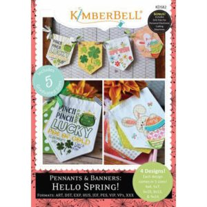 Kimberbell Hello Spring Pennants and Banners