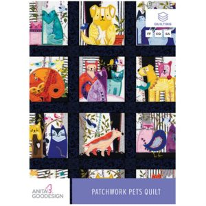 Front cover of Anita Goodesign Patchwork Pets Disc