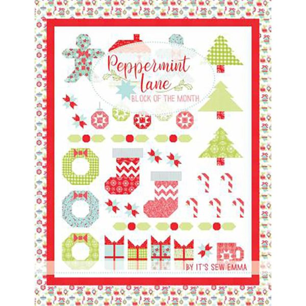 Peppermint Lane Block of the Month