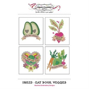 Front cover of Inked -- Eat your Veggies CD